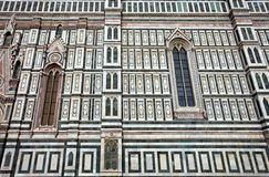 The famous cathedral in Florence, Italy. Royalty Free Stock Images