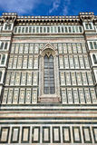 The famous cathedral in Florence, Italy. Stock Image