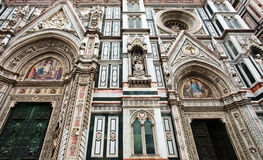 The famous cathedral in Florence, Italy. Royalty Free Stock Photos