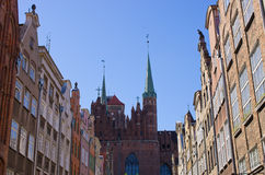 Famous cathedral of Gdansk, Poland Stock Photos