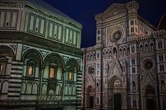 Famous cathedral in Italy Stock Photography