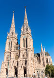 The famous cathedral of Lujan Stock Images