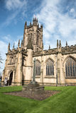 Famous cathedral of Manchester, UK Stock Image