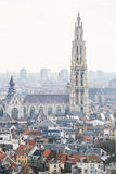 Famous Cathedral of Our Lady in Antwerp, Belgium Stock Photography