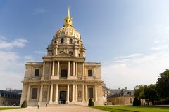 Famous cathedral in Paris Stock Photo
