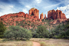 Famous Cathedral Rock Royalty Free Stock Photography