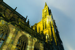 The famous Cathedral on Strasbourg, France Royalty Free Stock Photos