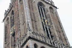 Famous Cathedral Tower in Utrecht, Royalty Free Stock Image