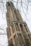 Famous Cathedral Tower in Utrecht Stock Photo