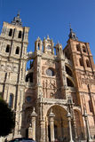 The famous Catholic cathedral in Astorga, Spain Royalty Free Stock Images