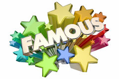 Famous Celebrity Fame Stars VIP Event Royalty Free Stock Images