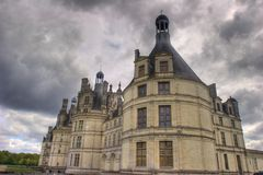 Famous chambord french castle Stock Image