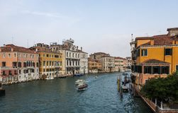 Famous channels at Venezia Royalty Free Stock Image