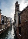 Famous channels at Venezia Stock Photo