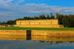 Famous Chateau de Chantilly. France Stock Images