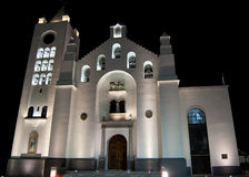 Famous Chiapas church Stock Image