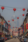 Famous Chinatown in Singapore Stock Photography