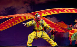 The famous chinese opera : Monkey King Stock Photo