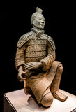 Famous Chinese terracotta warriors army figures Stock Photos