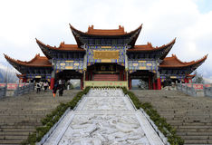 The famous chongsheng temple in dali city,  china Royalty Free Stock Images