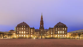The famous Christiansborg Slot in Copenhagen, Denmark Royalty Free Stock Image