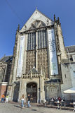 Famous Chruch at Dam Square, Amsterdam. Royalty Free Stock Photo
