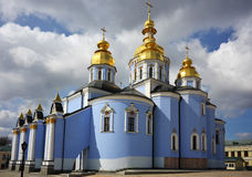 Famous church complex in Kiev, Ukraine Royalty Free Stock Photography