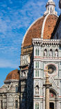 Brunelleschi dome and Santa Maria in Fiore in Florence Stock Image