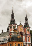 Famous church in Holy Lipka - Poland. Royalty Free Stock Photography