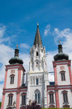 Famous Church in Mariazell Styria Stock Photography