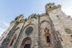 Famous Church in Mondonedo, Lugo Stock Photography