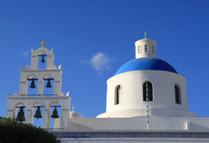 Famous Church of Oia,Santorini Stock Photos
