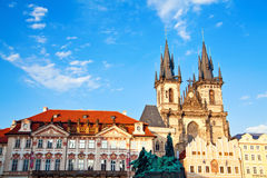 Famous Church In Prague Royalty Free Stock Photos