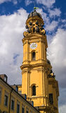The famous church -Theatinerkirche- in Munich. Germany Stock Photo