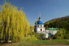 Famous churches of Kiev Stock Images