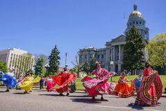 The famous Cinco de Mayo Parade Stock Image