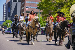 The famous Cinco de Mayo Parade Stock Images