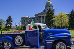 The famous Cinco de Mayo Parade. Denver, MAY 8: The famous Cinco de Mayo Parade on MAY 8, 2017 at Denver, Colorado Stock Photography