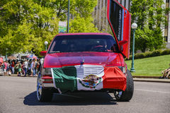 The famous Cinco de Mayo Parade. Denver, MAY 8: The famous Cinco de Mayo Parade on MAY 8, 2017 at Denver, Colorado Stock Images