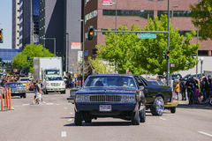 The famous Cinco de Mayo Parade. Denver, MAY 8: The famous Cinco de Mayo Parade on MAY 8, 2017 at Denver, Colorado