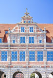 Famous cities in  Poland - Gdansk - Danzig. Port city at Baltic sea - Gdansk. Monuments in old town Royalty Free Stock Image