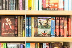 Famous Classic Literature Books For Sale On Library Shelf Royalty Free Stock Image