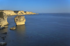 Bonifacio cliff Royalty Free Stock Images