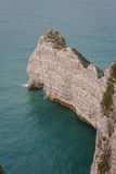 Famous cliffs in Etretat, Normandy Royalty Free Stock Photo