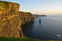 Famous cliffs of moher county clare, ireland Royalty Free Stock Image