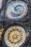The famous clock in Prague. Royalty Free Stock Photos