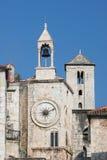 Famous clock tower in Split, Croatia Royalty Free Stock Image