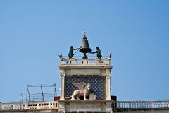 St Mark's Clocktower (Torre dell'Orologio) in Venice Stock Photography