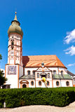 Famous cloister of Andechs Stock Photo
