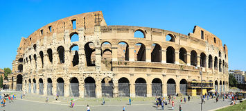 Famous Coliseum in Rome Royalty Free Stock Images